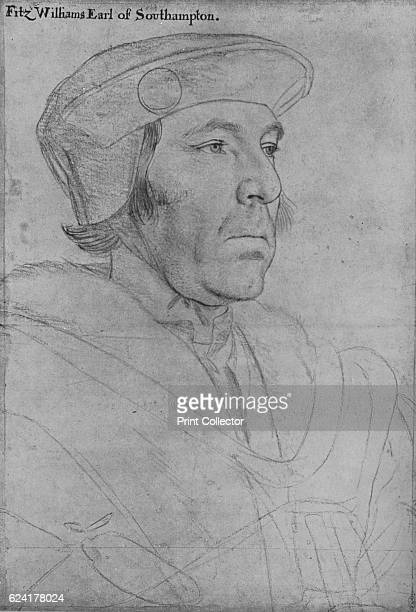 William Fitzwilliam Earl of Southampton' c15361540 William FitzWilliam 1st Earl of Southampton KG English courtier and soldier The drawing is part of...