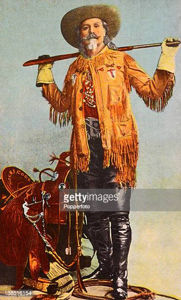 William Frederick Cody American guide Indian scout and buffalo hunter who toured America in a wild west show as 'Buffalo Bill' He also performed in...