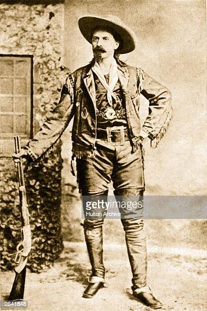 William Frederick Cody better known as 'Buffalo Bill' American scout pony express rider and showman