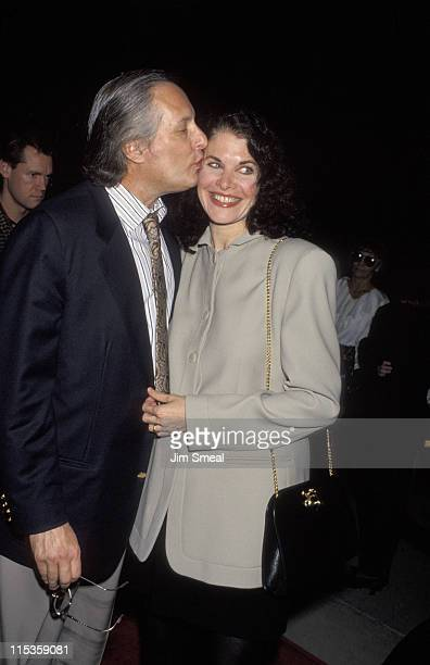 """William Friedkin and Sherry Lansing during """"Indecent Proposal"""" Los Angeles VIP Screening at Samuel Goldwyn Theater in Beverly Hills, California,..."""