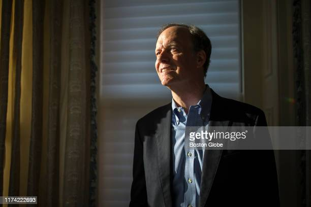 William G Kaelin Jr poses for a portrait in Boston on Oct 7 2019 Kaelin was awarded the Nobel Prize for Physiology or Medicine Kaelin who teaches at...