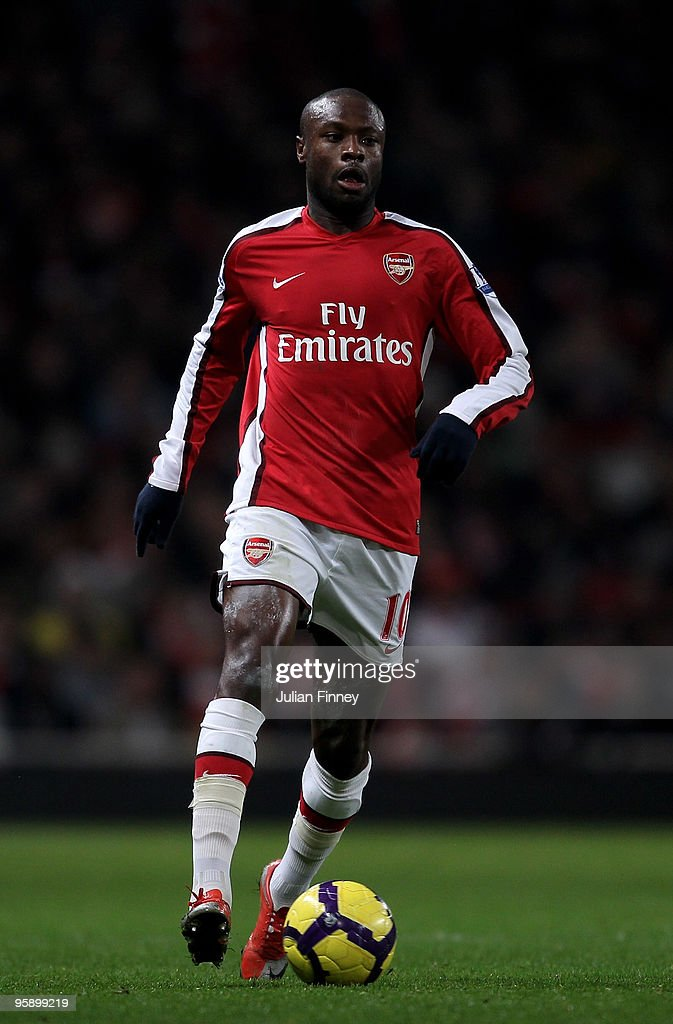 William Gallas of Arsenal in action during the Barclays Premier League match between Arsenal and Bolton Wanderers at The Emirates Stadium on January 20, 2010 in London, England.