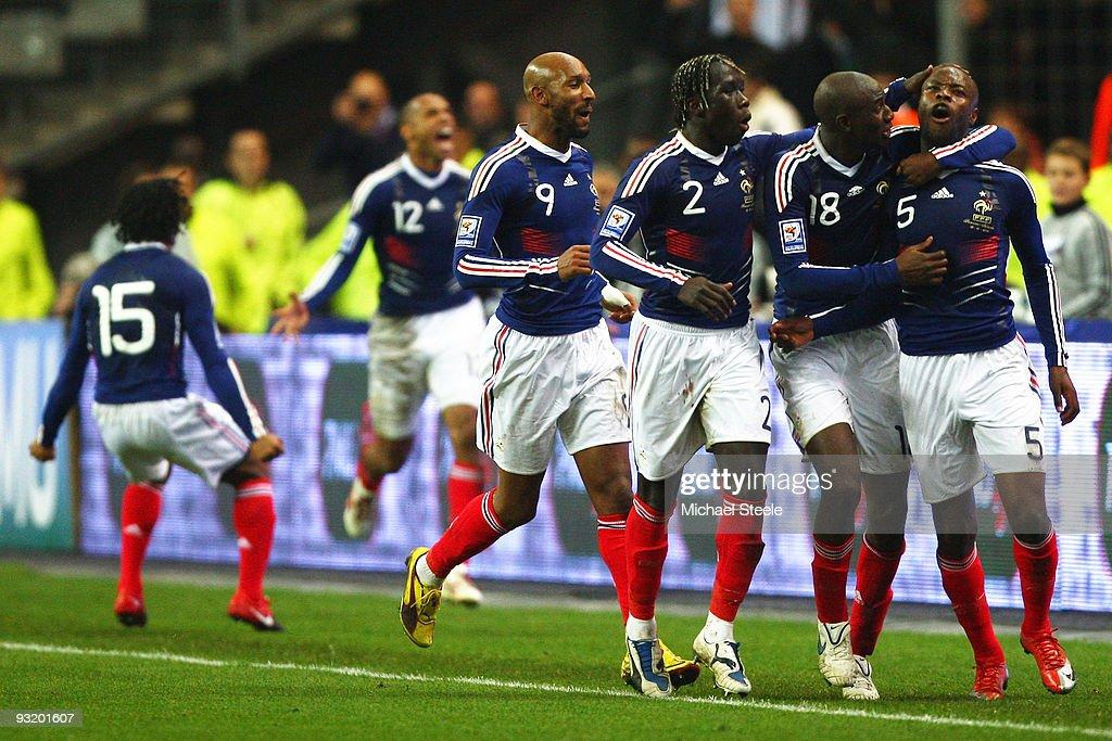 France v Republic of Ireland - FIFA 2010 World Cup Qualifier