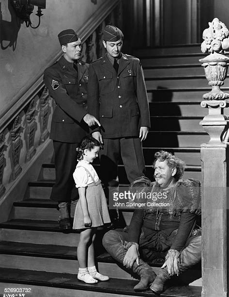 William Gargan as Sergeant Benson Margaret O'Brien as Jessica de Canterville Robert Young as Cuffy Williams and Charles Laughton as the ghost of Sir...