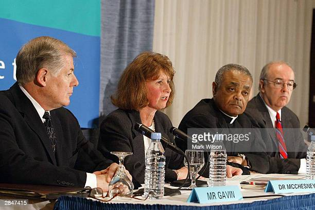 William Gavin head of the audit firm Gavin Group of Boston Kathleen McChesney head of the bishops' watchdog Office of Child and Youth Protection...