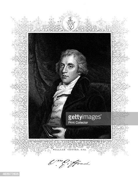 William Gifford English critic editor and poet Gifford built a reputation as a satirist and controversialist He edited the Quarterly Review from 1809...