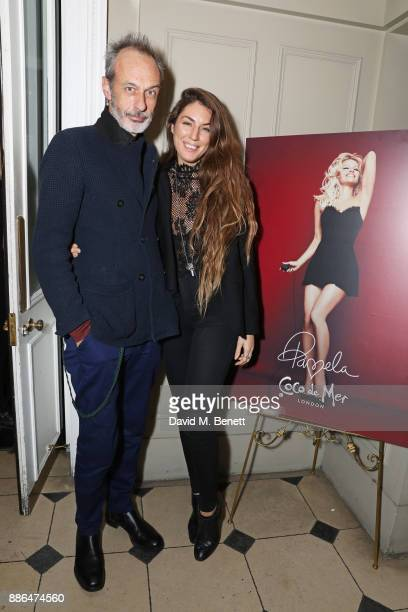 William Gilchrist attends the launch of Pamela Anderson's exclusive Coco De Mer collection at Morton's on December 5, 2017 in London, England.