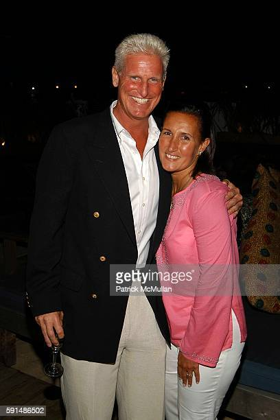 William Goodman IV and Christine Schott attend Southampton Soiree hosted by Luigi Tadini Amanda Hearst and Gillian HearstShaw at Cain at Cabanas on...