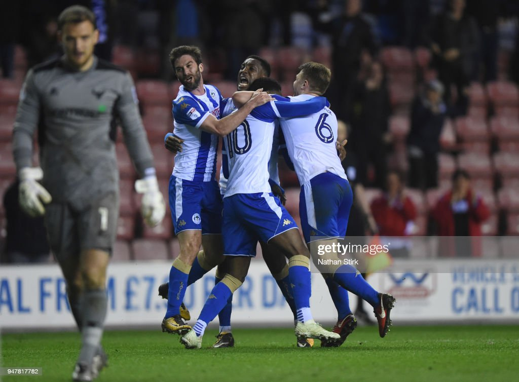 Wigan Athletic v Oxford United - Sky Bet League One