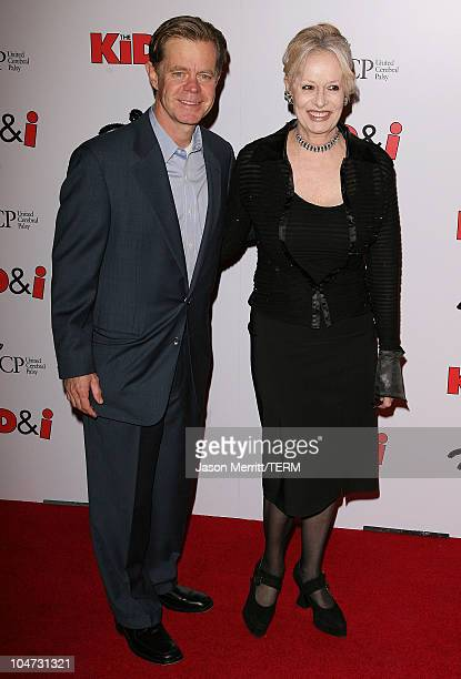 William H Macy and director Penelope Spheeris during Wheels Up Films' The Kid I Los Angeles Premiere Arrivals at Grauman's Chinese Theatre in...