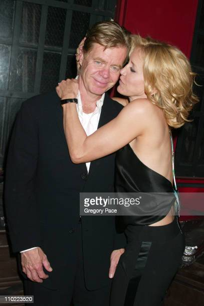 William H Macy and wife Felicity Huffman during 4th Annual Tribeca Film Festival 'Transamerica' Premiere After Party at Bar M15 in New York City New...