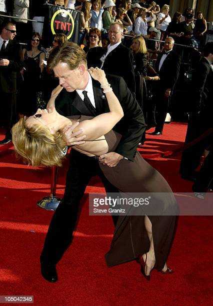 William H Macy and wife Felicity Huffman