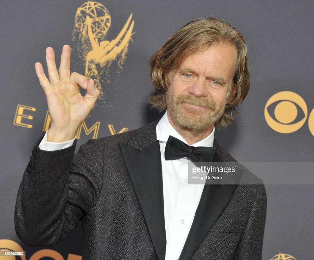 William H. Macy arrives at the 69th Annual Primetime Emmy Awards at Microsoft Theater on September 17, 2017 in Los Angeles, California.