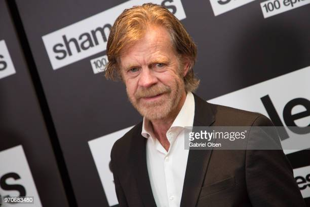 William H Macy arrives for Showtime's 'Shamelesss' 100 Episode Celebration at DREAM Hollywood on June 9 2018 in Hollywood California