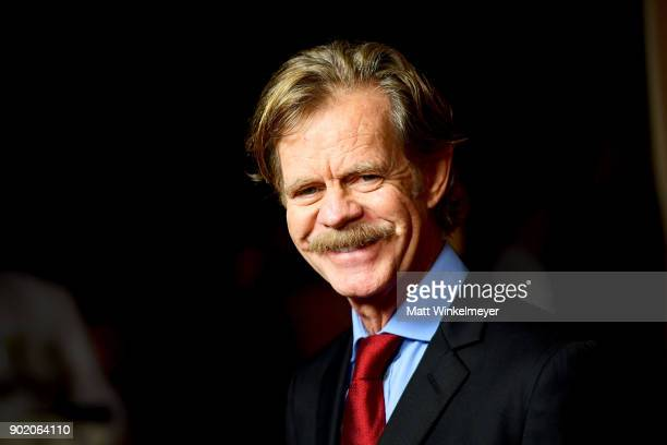 William H Macy arrives for the Showtime Golden Globe Nominees Celebration at Sunset Tower on January 6 2018 in Los Angeles California