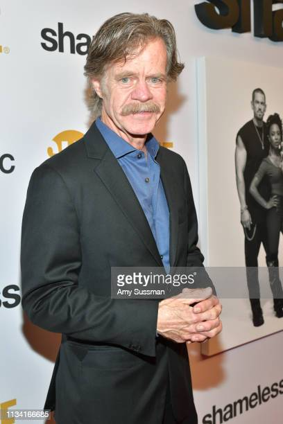 William H Macy attends For Your Consideration Event For Showtime's Shameless at Linwood Dunn Theater on March 06 2019 in Los Angeles California