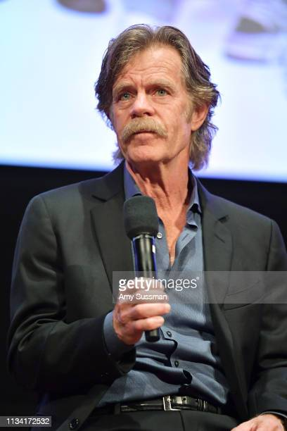 """William H. Macy attends For Your Consideration Event For Showtime's """"Shameless"""" at Linwood Dunn Theater on March 06, 2019 in Los Angeles, California."""