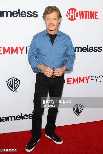 William H Macy attends Showtime's 'Shameless' Los Angeles special screening held at Leonard H Goldenson Theatre on June 4 2013 in North Hollywood...