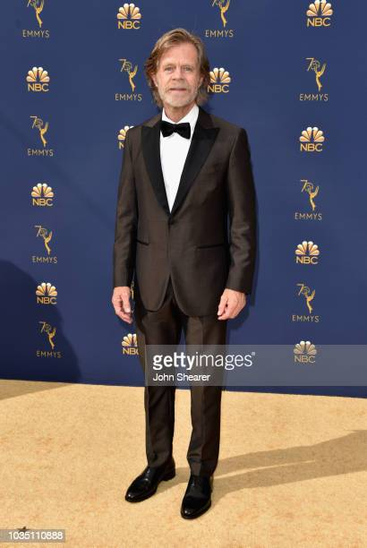 William H Macy attends the 70th Emmy Awards at Microsoft Theater on September 17 2018 in Los Angeles California