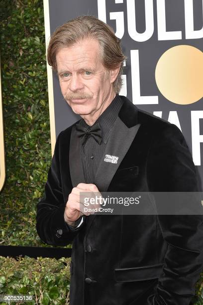 William H Macy attends the 75th Annual Golden Globe Awards Arrivals at The Beverly Hilton Hotel on January 7 2018 in Beverly Hills California