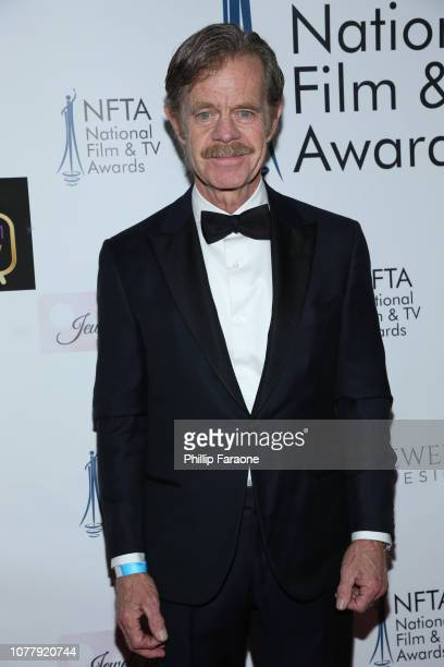 William H Macy attends the National Film and Television Awards Ceremony at Globe Theatre on December 05 2018 in Los Angeles California