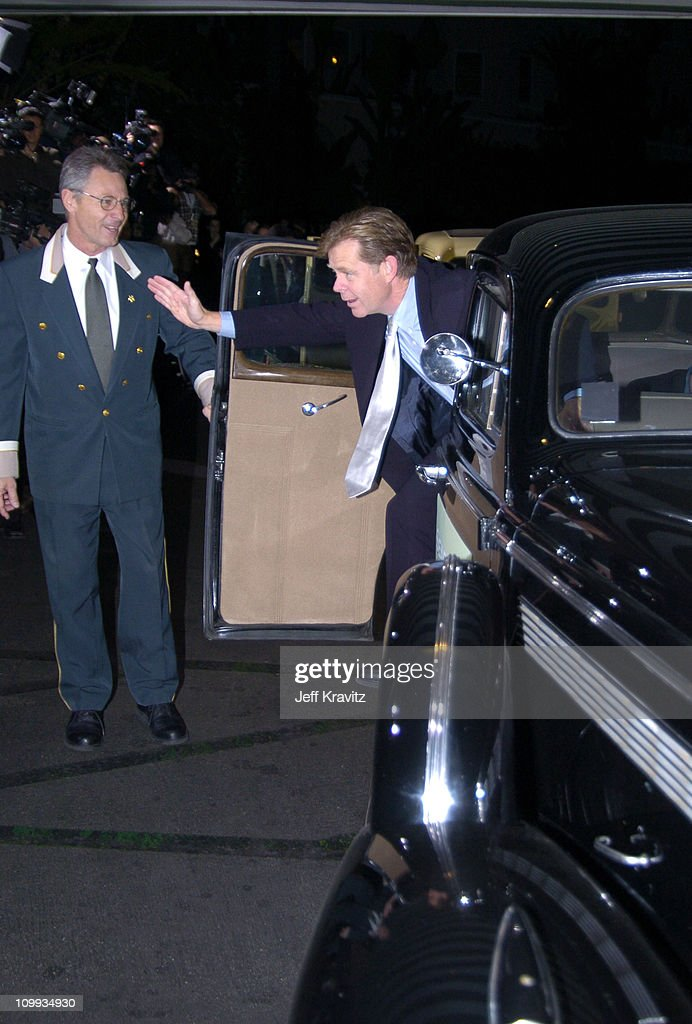 William H. Macy during Seabiscuit DVD Launch - Arrivals at The Polo Lounge at the Beverly Hills Hotel in Beverly Hills, California, United States.
