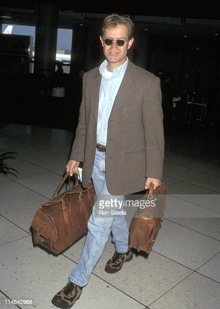 William H Macy during William H Macy Sighting in Los Angeles February 2 1997 at Los Angeles International Airport in Los Angeles California United...