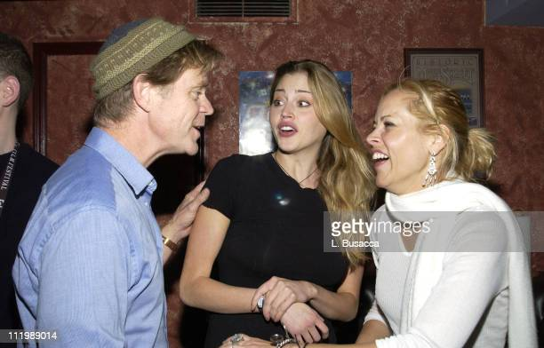 William H Macy Estella Warren in Coach and Maria Bello