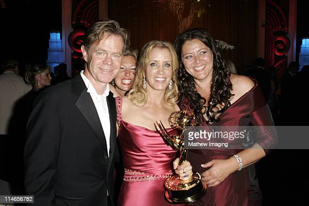 William H. Macy, Felicity Huffman and Camryn Manheim