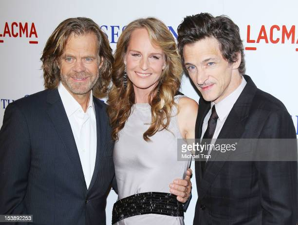 William H Macy Helen Hunt and John Hawkes arrive at the Los Angeles premiere of The Sessions held at Bing Theatre At LACMA on October 10 2012 in Los...