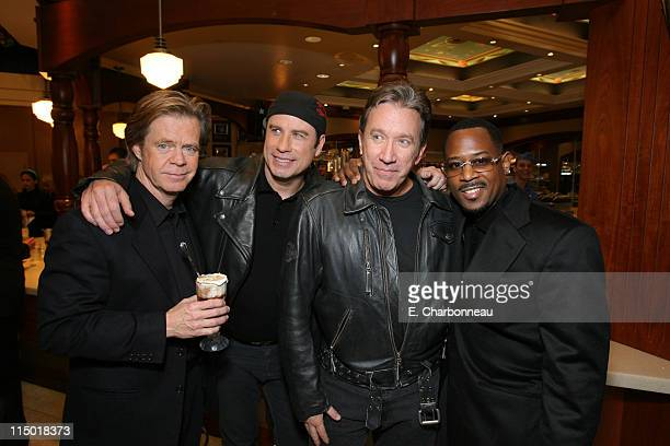 William H Macy John Travolta Tim Allen and Martin Lawrence