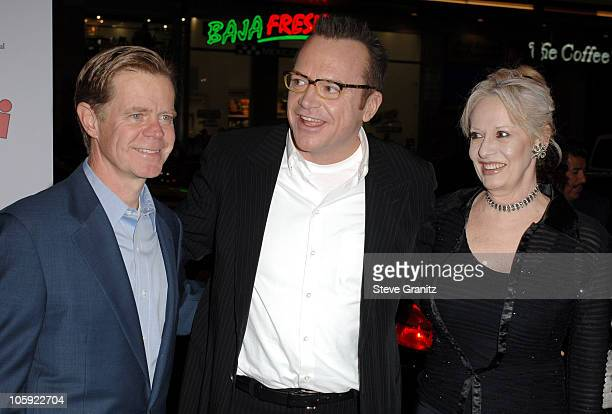 William H Macy Tom Arnold and Penelope Spheeris during Wheels Up Films' The Kid I Los Angeles Premiere Arrivals at Grauman's Chinese Theater in...