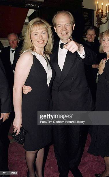 William Hague And Ffion Attending A Special Gala Performance To Mark The Closure Of The Royal Opera House For Redevelopment