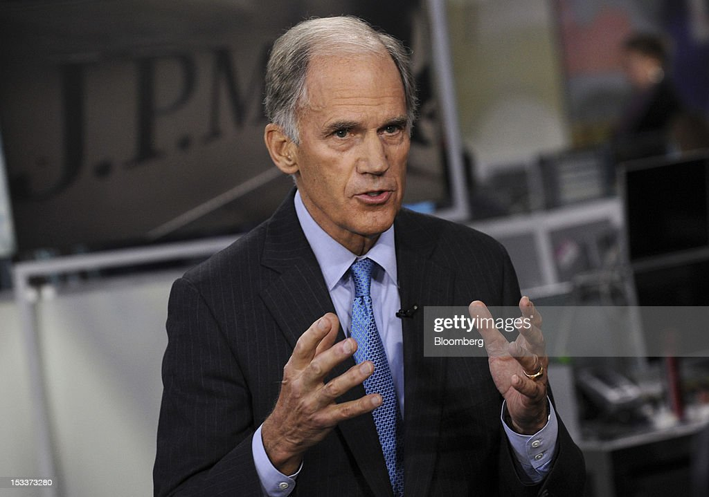 William Harrison, former chief executive officer of JPMorgan
