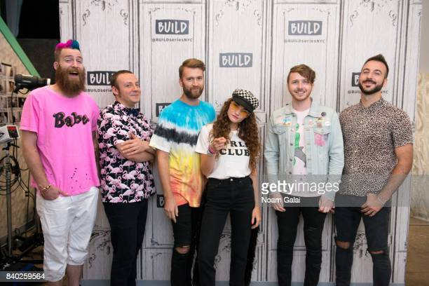 William Hehir, Jesse Blum, Etienne Bowler, Mandy Lee, Marc Campbell and Mike Murphy of MisterWives visit Build Series to discuss their latest album...