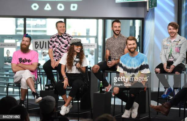 William Hehir, Jesse Blum, Mandy Lee, Mike Murphy, Etienne Bowler and Marc Campbell of MisterWives visit Build Series to discuss their latest album...