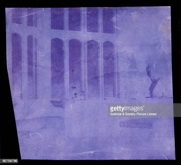 William Henry Fox Talbot invented the negative/positive process for producing photographs between 18351839 Any number of prints could be made from...