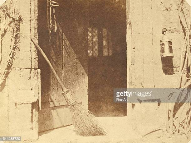 William Henry Fox Talbot The Open Door April 1844 salted paper print from a Calotype negative 149 x 168 cm The J Paul Getty Museum Los Angeles