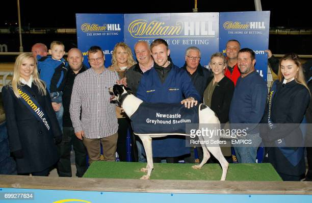 William Hill Angel Of The North Oaks Final winner GRAIGUES DIVA All England Cup Final Greyhound Racing Newcastle Greyhound Stadium