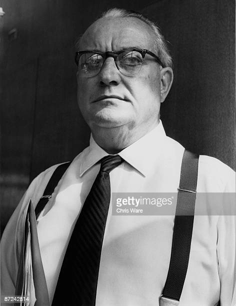 William Hill founder of the UK's largest bookmakers 16th July 1963