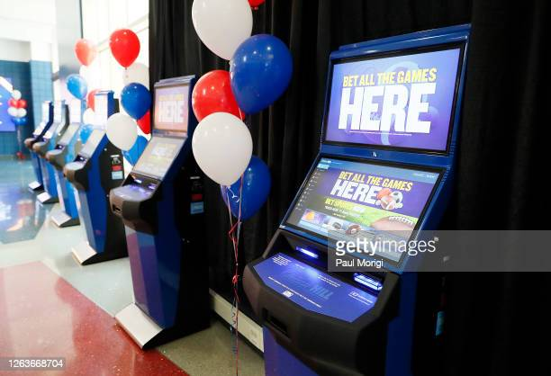 William Hill officially opens first-ever sports book within a U.S. Sports complex at Capital One Arena in Washington, D.C. On August 3, 2020 in...