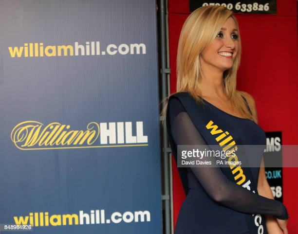 A William Hill promotional girl