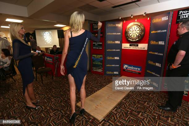 William Hill promotional girls