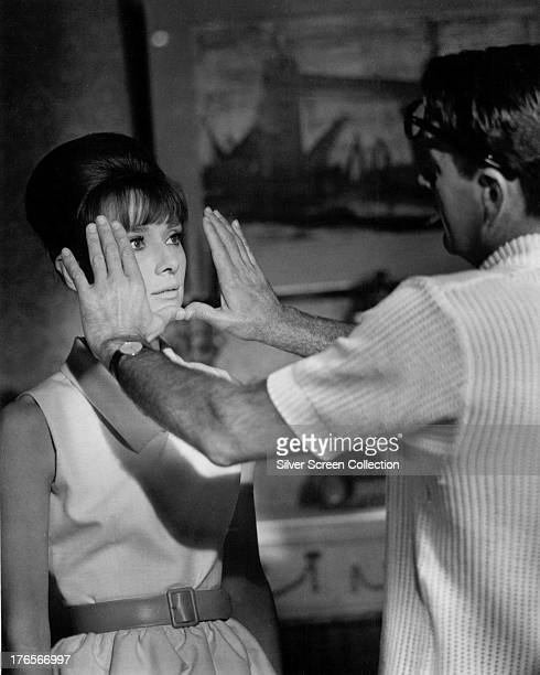 William Holden as Richard Benson/Rick and Audrey Hepburn as Gabrielle Simpson/Gaby in 'Paris When It Sizzles' directed by Richard Quine 1964