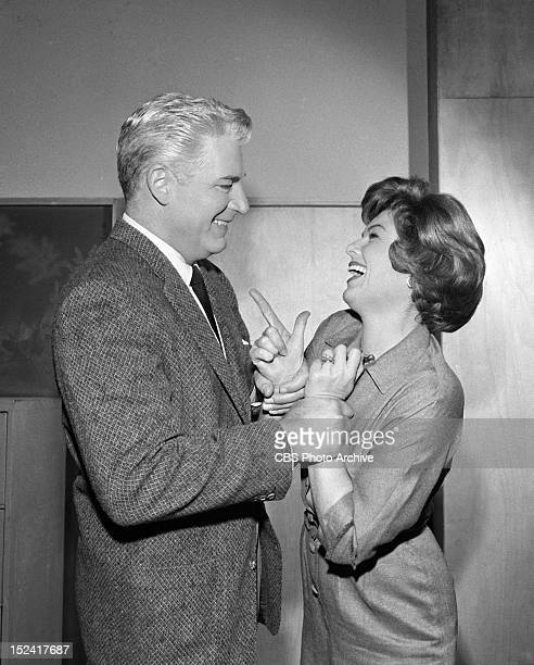 MASON William Hopper as Paul Drake and Barbara Hale as Della Street in 'The Case of the Melancholy Marksman' Image dated February 21 1962