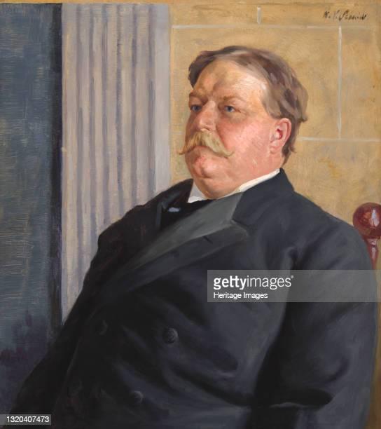 William Howard Taft, circa 1910. Artist William Valentine Schevill.