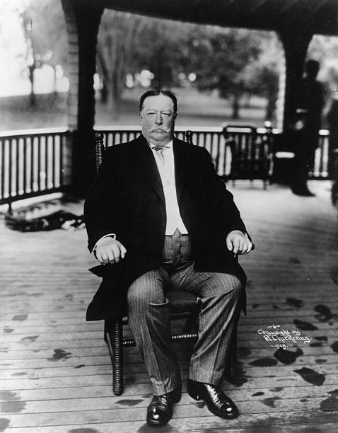 William Howard Taft , the 27th President of the United...
