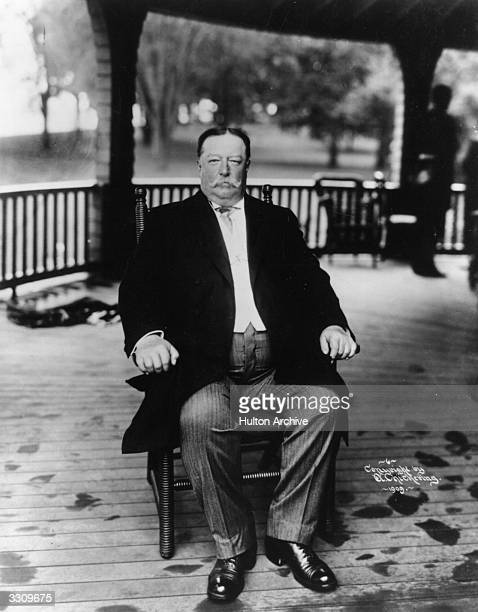 William Howard Taft the 27th President of the United States He later served as Chief Justice of the Supreme Court