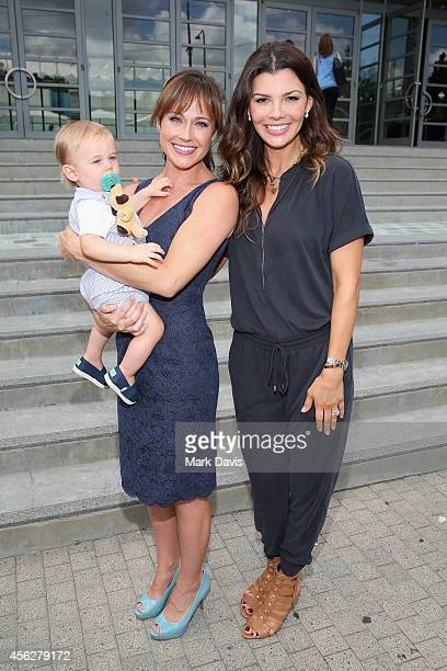 William Hudson Goodell actress Nikki DeLoach and model Ali Landry attend the 3rd annual red CARpet safety awareness event presented by Favoredby...