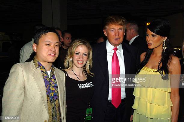 William Hung Gonnabee Donald Trump and Melania Knauss